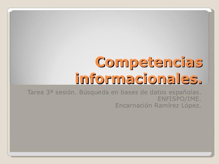 Tarea 3 competencias informacionales