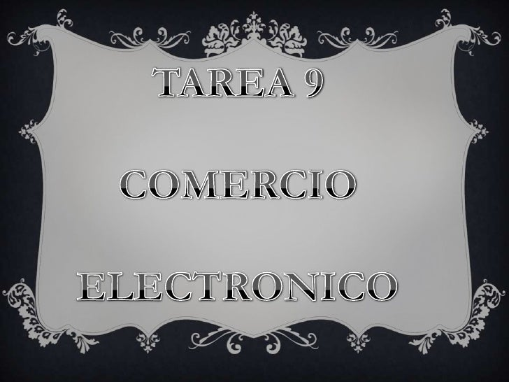 COMERCIO ELECTRONICO También conocido como e-commerce consiste en la compra    y venta de productos o servicios a través d...