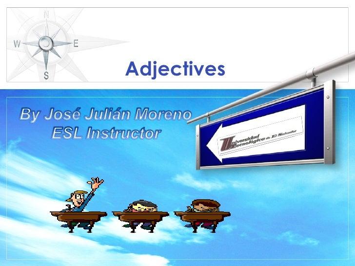 Adjectives ESL