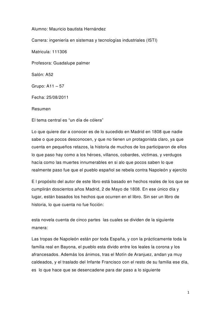 Alumno: Mauricio bautista Hernández<br />Carrera: ingeniería en sistemas y tecnologías industriales (ISTI)<br />Matricula:...