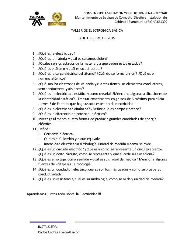CONVENIODEAMPLIACION Y COBERTURA SENA – TECNAR Mantenimientode Equiposde Cómputo,Diseñoe Instalaciónde CableadoEstructurad...