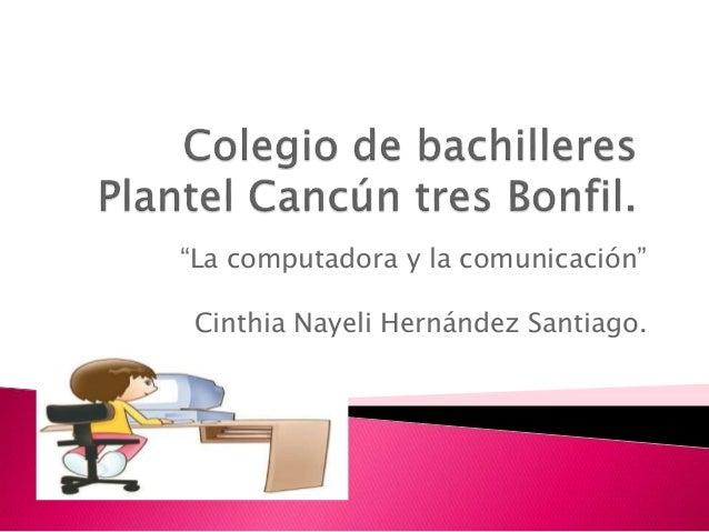 Cinthia Nayeli hernandez S.