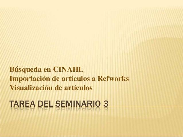 Tarea del seminario 3