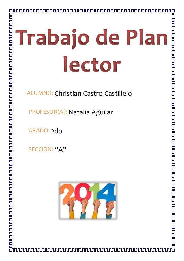 """ALUMNO: Christian Castro Castillejo  PROFESOR(A): Natalia Aguilar  GRADO: 2do  SECCIÓN: """"A"""""""