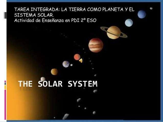 essay on the solar system