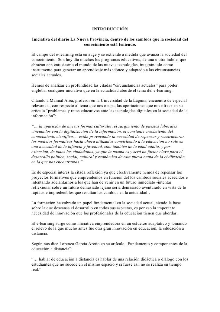INTRODUCCIÓN  Iniciativa del diario La Nueva Provincia, dentro de los cambios que la sociedad del                         ...