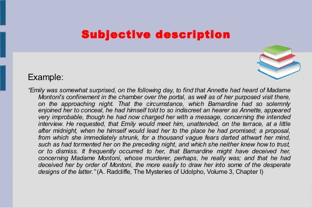description of descriptive essay