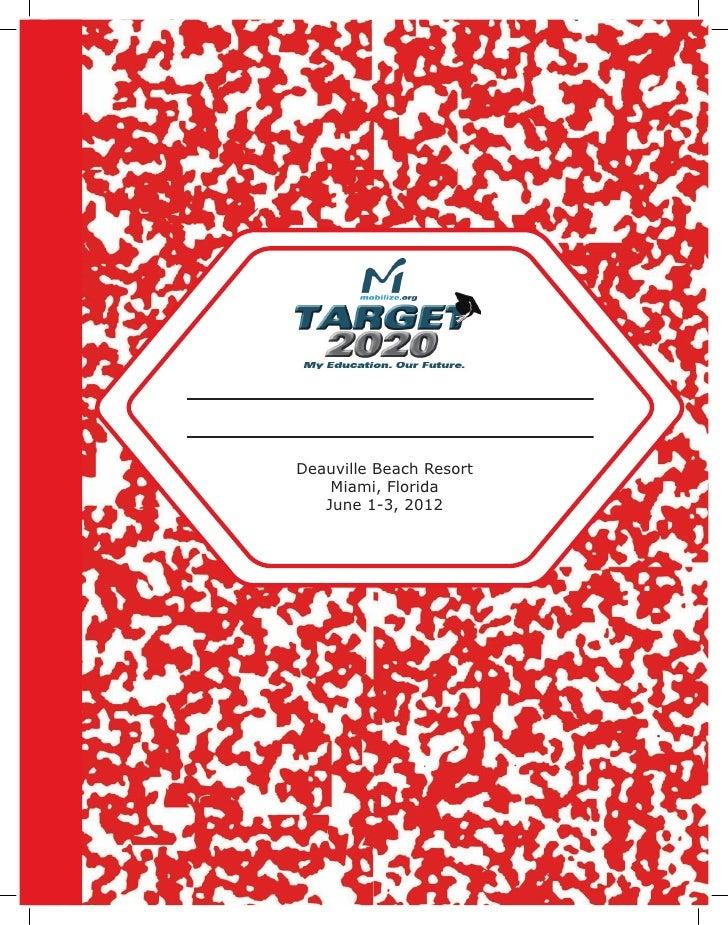 Target 2020 florida participant guide