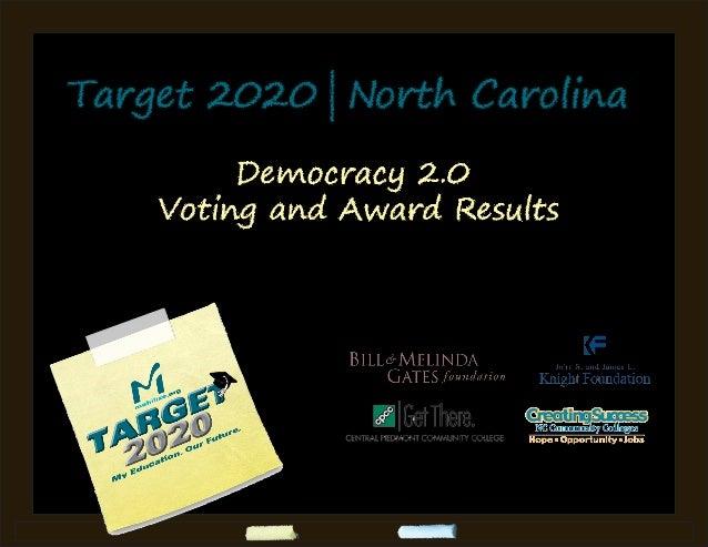 Target 2020 north carolina voting results