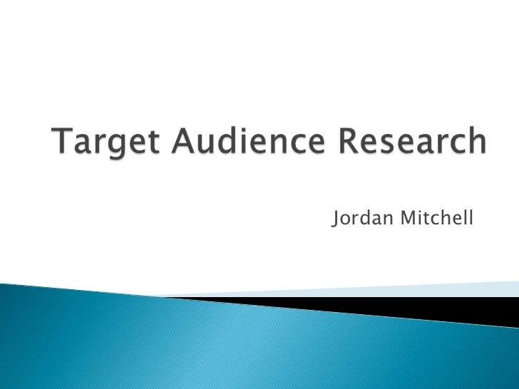 Jordan Mitchell