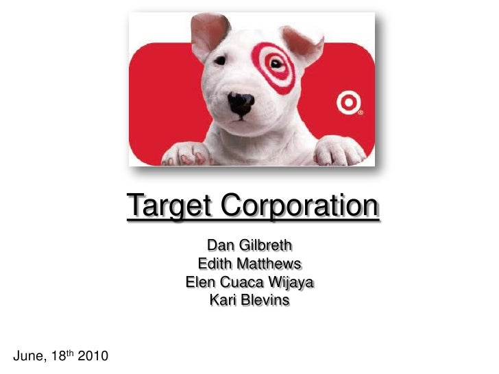 target corporation essay Marketing plan, target corporation this research paper marketing plan, target corporation and other 64,000+ term papers, college essay examples and free essays are available now on reviewessayscom.