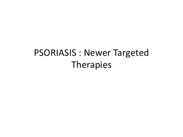 Targeted therapy psoriasis