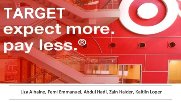 essay on target corporation Target corporation is one of the largest merchants in the world target is recorded to be the sixth largest retailer within the united states.