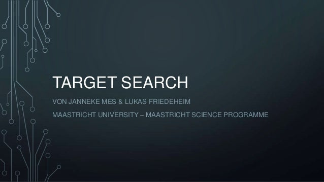 OPENPhacts target search - Mes & Friedeheim