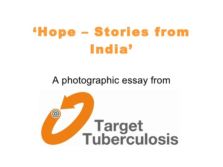 Target TB 'Hope: Stories from India' charity photo essay