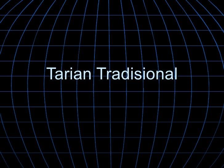Tarian Tradisional