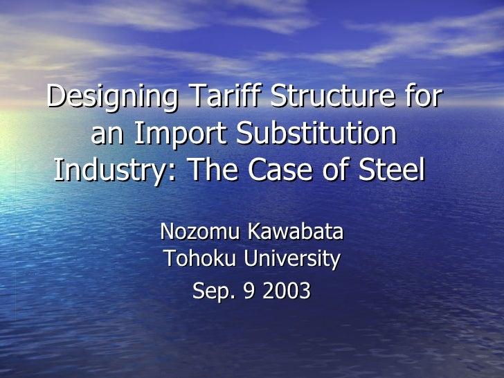Tariff Design