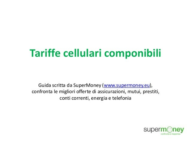 Tariffe cellulari componibili