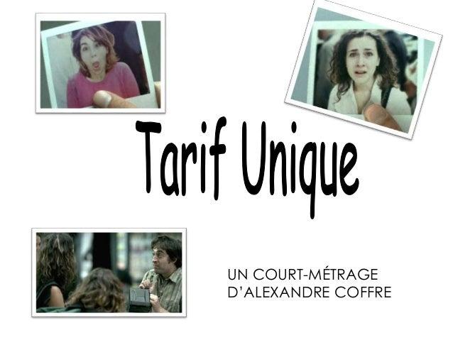 UN COURT-MÉTRAGE D'ALEXANDRE COFFRE