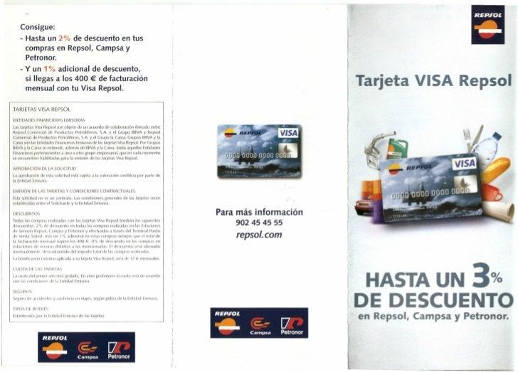 visa repsol: