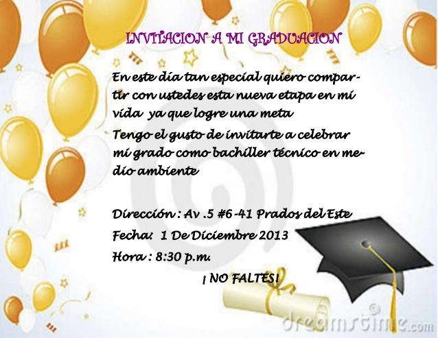 Tarjetas De Graduacion En Ingles
