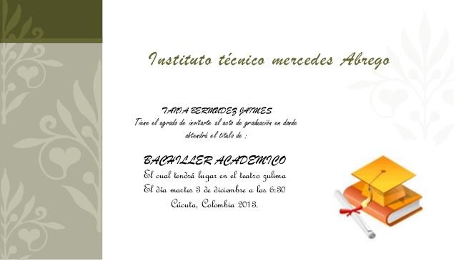 Modelo De Tarjetas De Invitacion Para Graduacion | apexwallpapers.com