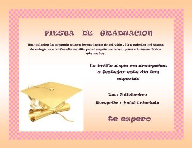 Tarjeta De Invitacion Para Recepcion