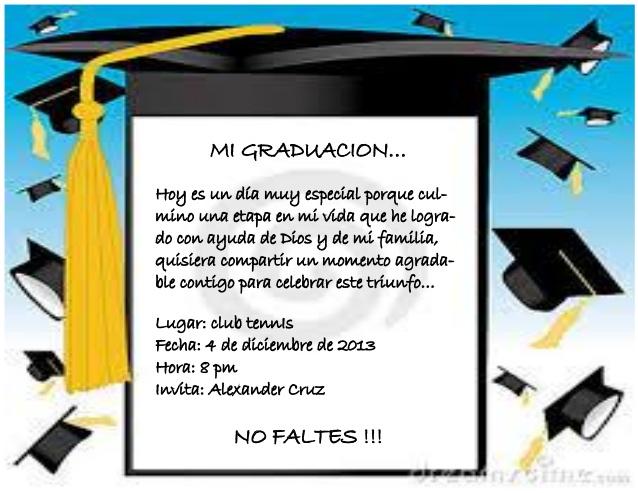 invitaciones de graduacion de primaria para editar e