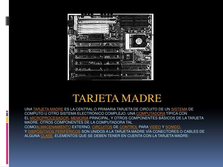 Tarjeta Madre by Alex stefan
