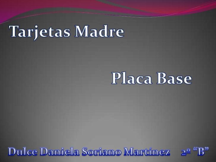 La placa base, también conocida como placa madre o tarjetamadre, es una tarjeta de circuito impreso a la que se conectanlo...