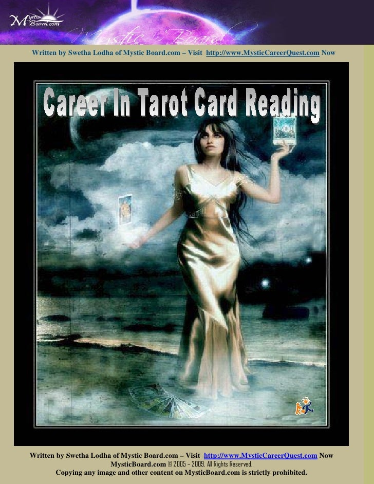 Free eBook On Tarot Card Reading