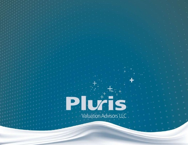 – About Us –                           Pluris Valuation Advisors LLC                           is a valuation firm headqua...