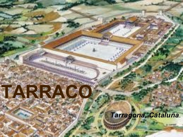 TARRACO Tarragona, Cataluña .