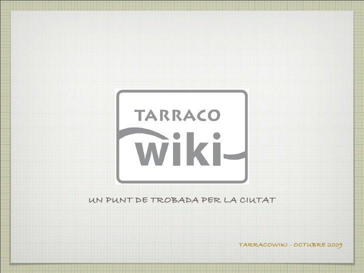 Tarracowiki