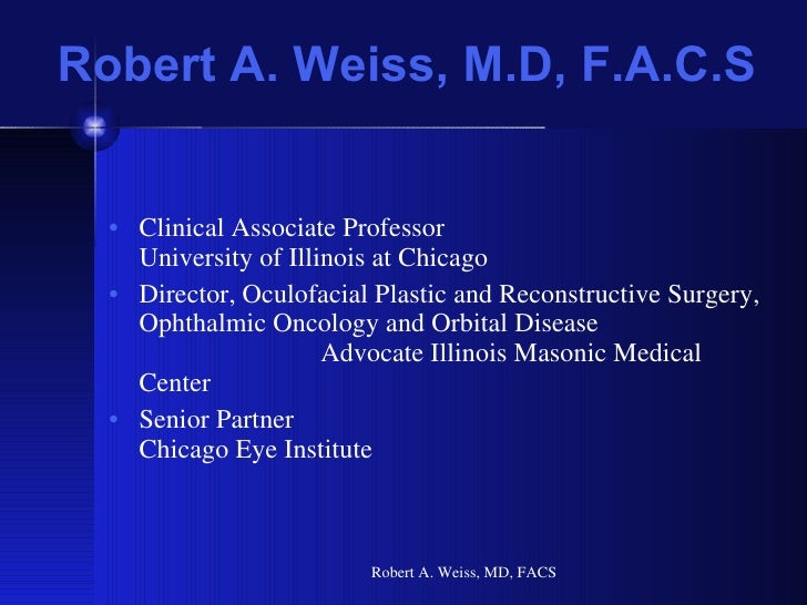 TarSys Slideshow - Dr. Robert A. Weiss