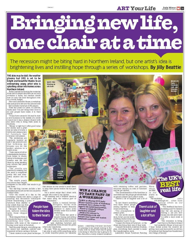 Lulabelle's House Hits the Headlines! pdf
