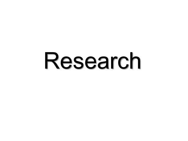 Task 1 - Research