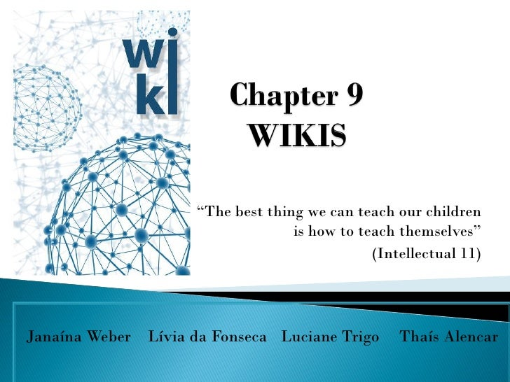 Task 11 - about Wikis