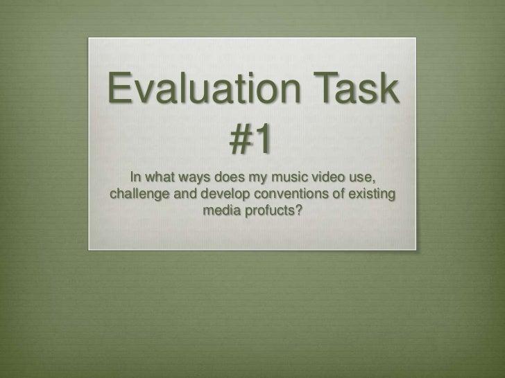Evaluation Task1