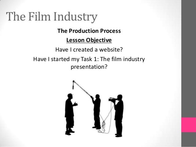 The Film IndustryThe Production ProcessLesson ObjectiveHave I created a website?Have I started my Task 1: The film industr...