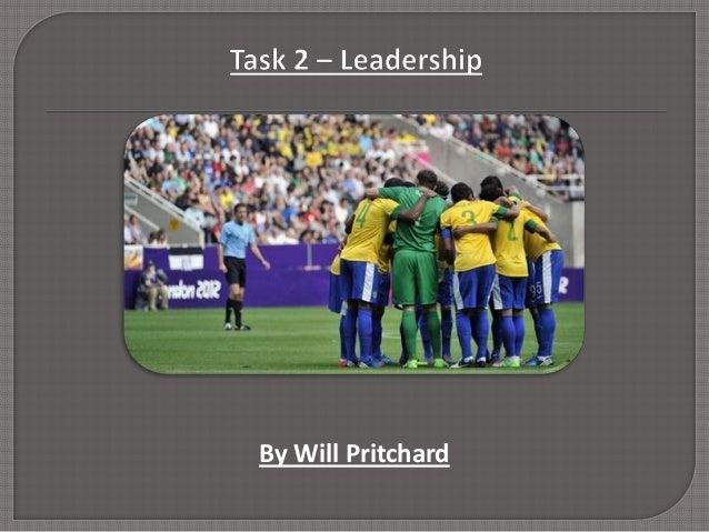 Task 2 – leadership