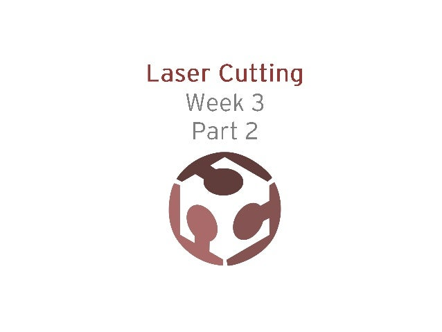 Week 3 (2014) Computer-controlled cutting Part2