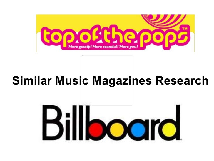 Similar Music Magazines Research