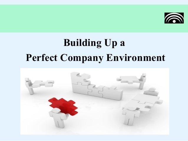 Building Up aPerfect Company Environment