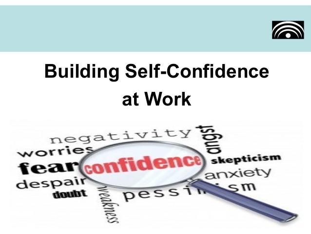 building self confidence essays