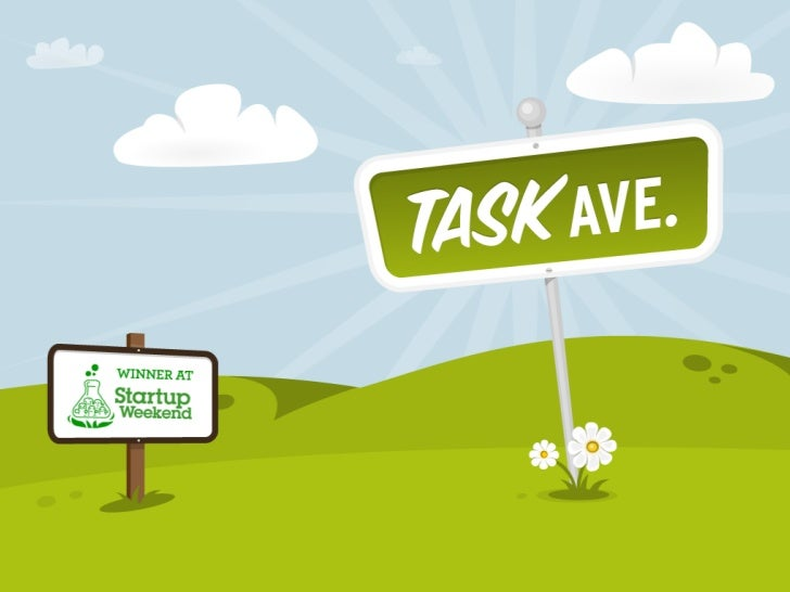 Task Ave.What we learned atStartup Weekend Toronto.(And how we somehow won.)