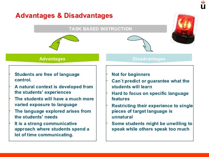 the advantages and disadvantages of having english as a second language The advantages and disadvantages in teaching english to adult learners in the current situation in vietnam a brief look at the current english language teaching and learning context in vietnam will show that the demand for english.