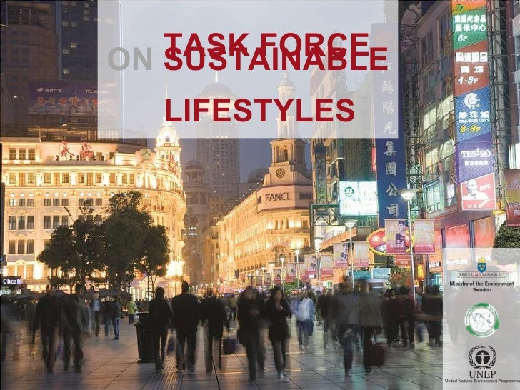 Task Force On Sustainable Lifestyles Presentation