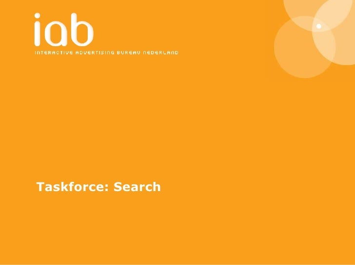 Taskforce: Search<br />