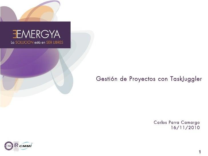 Gestión de Proyectos con TaskJuggler